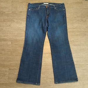 Levi's low Boot Cut 545 Jeans 14 M